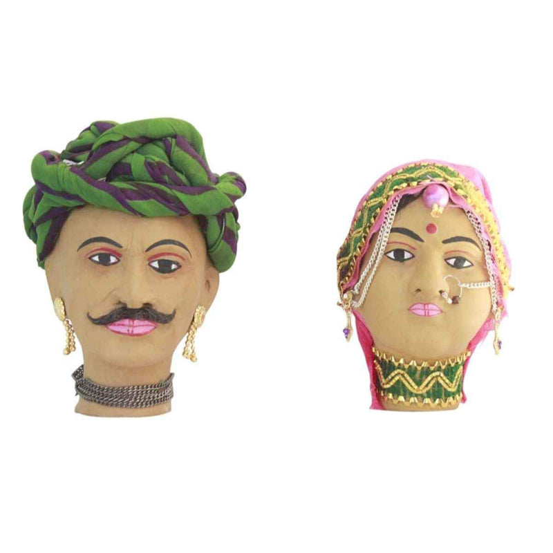 Rajasthani Clay Doll Traditional Rajasthani Doll