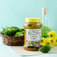 Preservative Free Karela Pickle