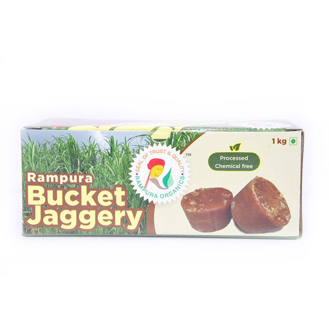 Jaggery - Bucket (Rampura)  (Pack of 2)