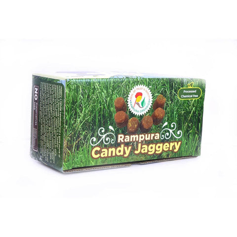 Jaggery  - Candy (Rampura) - Pack of 2, 2 x 600 g