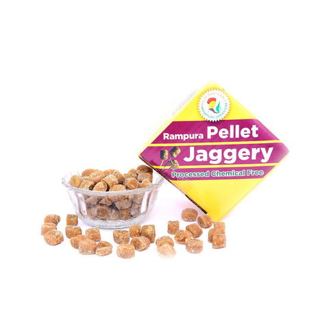 Jaggery Pellet (Rampura) (Pack of 3)