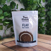 Raw Flax Seeds (Pack of 2)