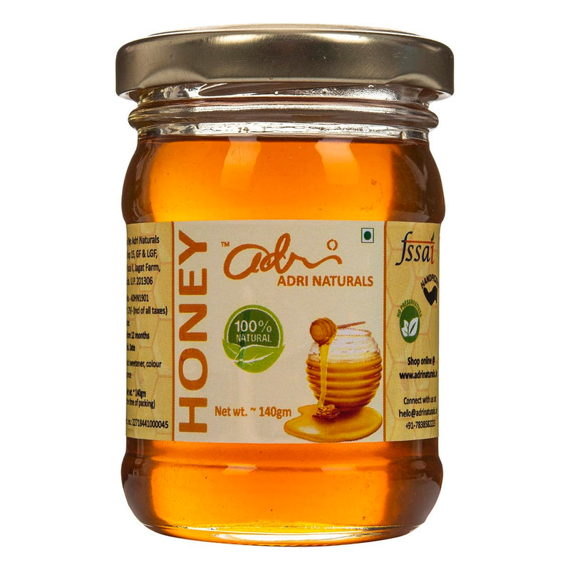 Raw Honey (100% Pure & Unrefined)