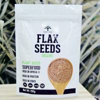 Raw Flax Seeds Rich In Omega 3 And Fibre Rich Superfood