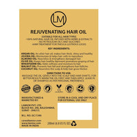 Rejuvenating Hair Oil With Argan Oil & Nagkesar Root