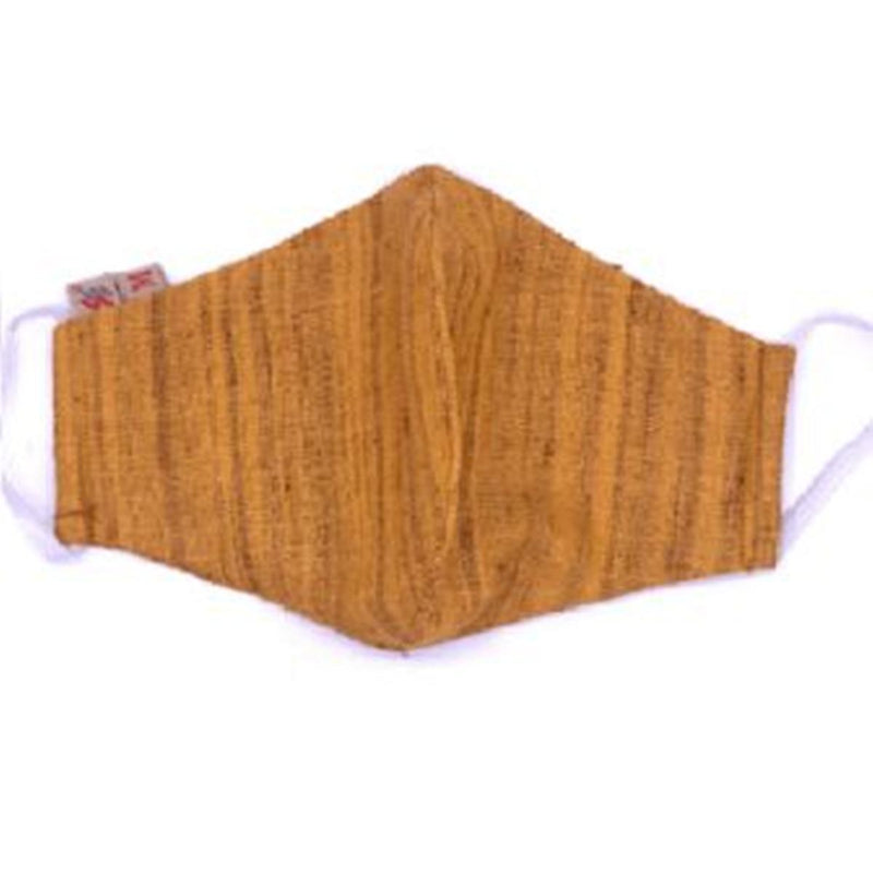 Face Mask (Cloth) - Reusable, Washable, Anti Pollution (Golden)