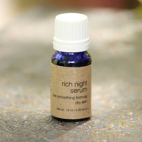 Rich Night Serum (Line Smoothing Formula For Dry Skin)