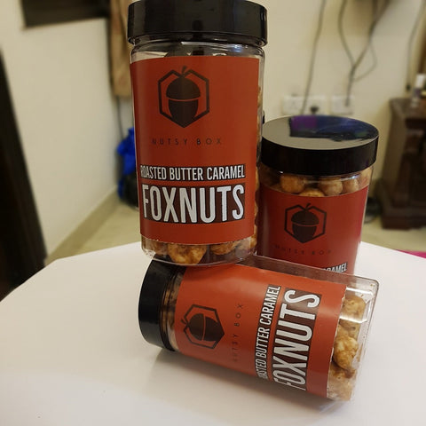 Roasted Butter Caramel Candied Foxnuts (Makhana)