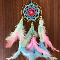 Pastel Shades Car Hanging - Handmade Hangings for Positivity
