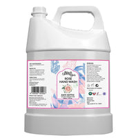 Rose Natural Hand Wash Can (Sulfate & Paraben Free)
