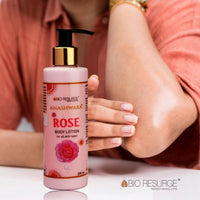 Rose Body Lotion For Cooling, Soothing & Moisturizing