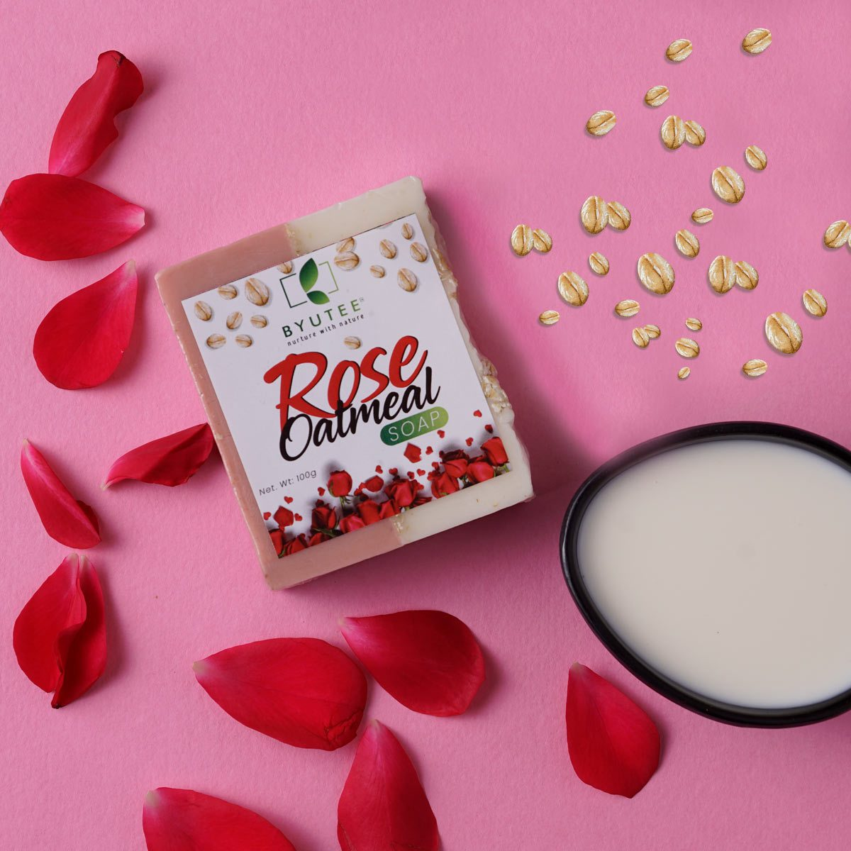 Rose Oat Meal Soap