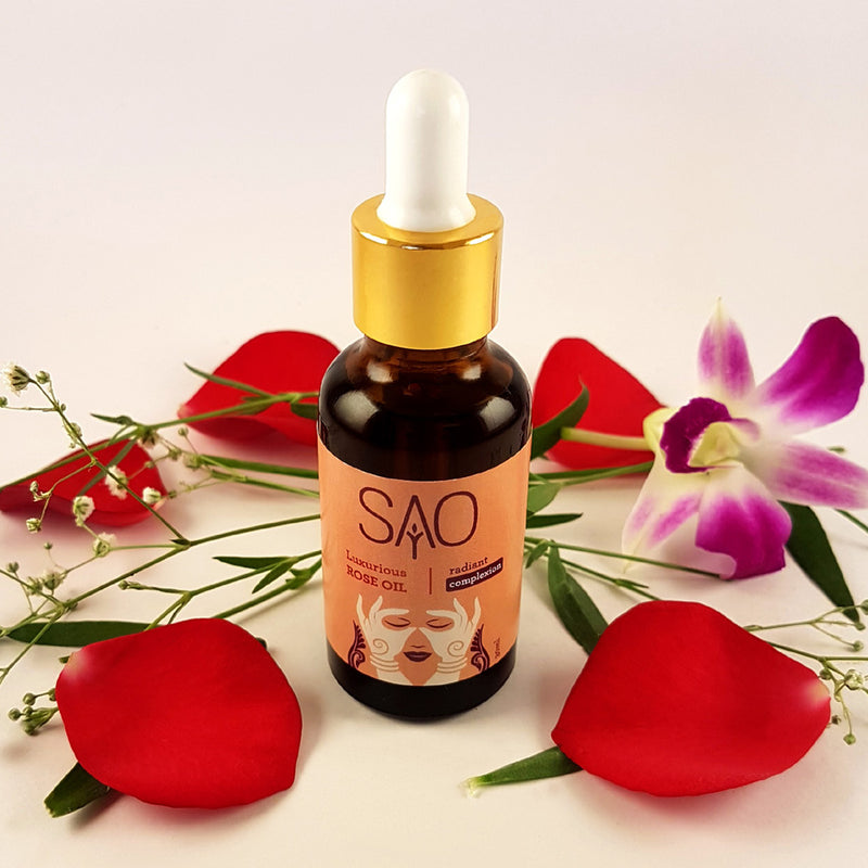Luxurious Rose Oil For Radiant Complexion