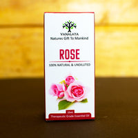 Rose Essential Oil (100% Natural & Undiluted)
