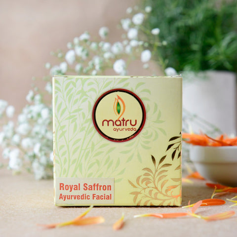 Royal Saffron Ayurvedic Facial