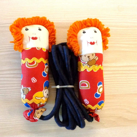 Skipping Ropes for Kids (Rust and Red)