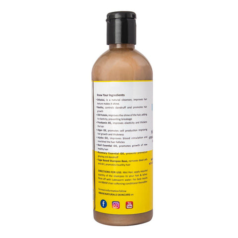 Ibbani Naturals Hair Loss Defence Shampoo (No Sulphates,No Parabens,No Toxins) 220 ml