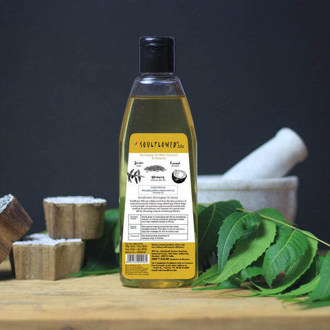 Cold-pressed Bhringraj Oil with Coconut and Sesame