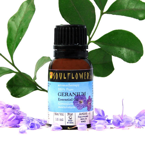 Geranium Essential Oil (15 ml)