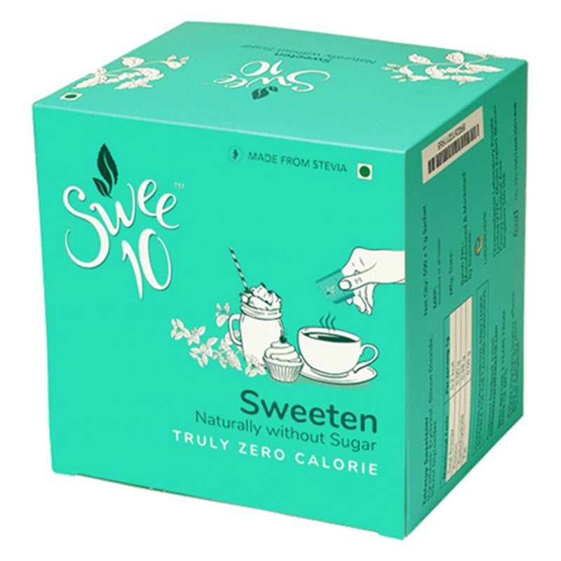 Swee10, 500g Box, Natural Sweetener made from Stevia