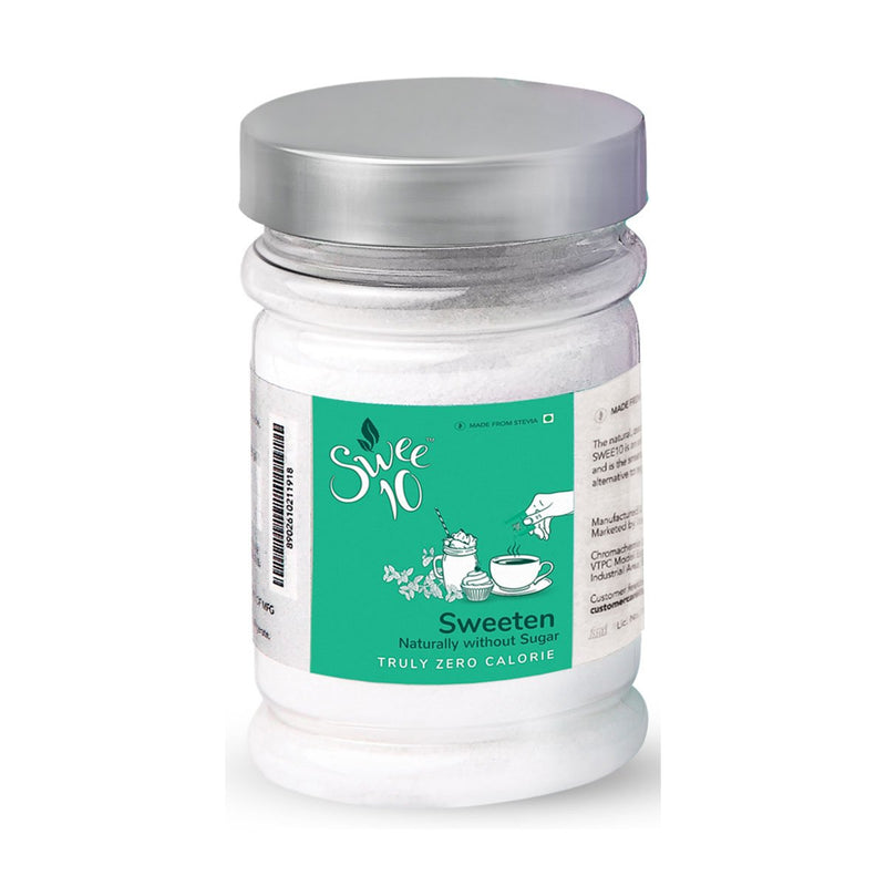 Swee10, 200g Jar, Natural Sweetener made from Stevia