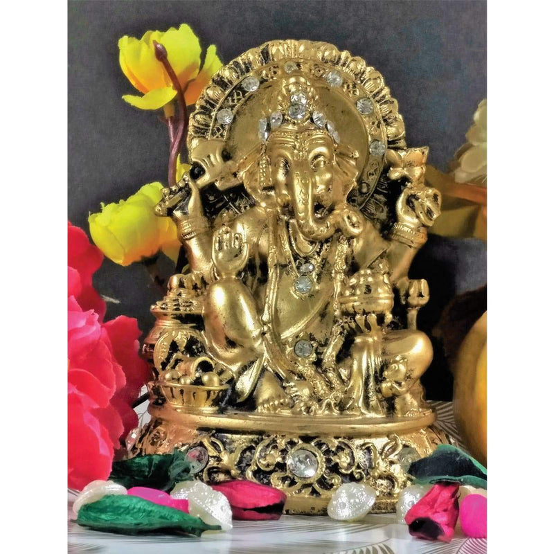 Antique Ganesha in Ashirwada Mudra