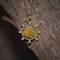 Saffron Stars Necklace