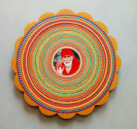 Dot Hand Painting With Sai Baba