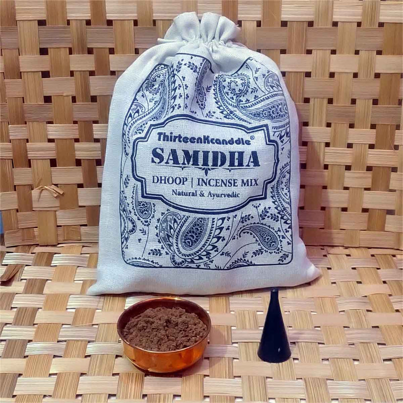 Samidha Dasangam Dhoop Powder Ayurvedic Natural
