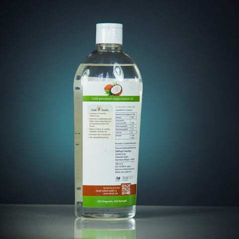 Cold-Processed Virgin Coconut Oil (500 ml)