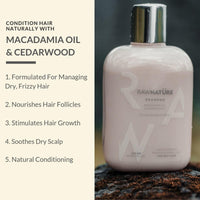 Shampoo - Dry Hair (Macadamia Oil & Cedarwood)