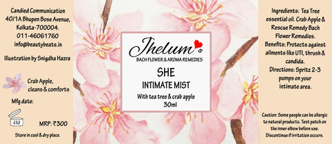 All Natural She Intimate Mist