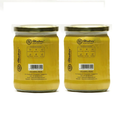 A2 Gir Cow Ghee (Keto Friendly)(Pack of 2)