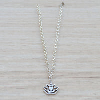 Anklet (Silver Plated) - Meditation Yoga Jewellery