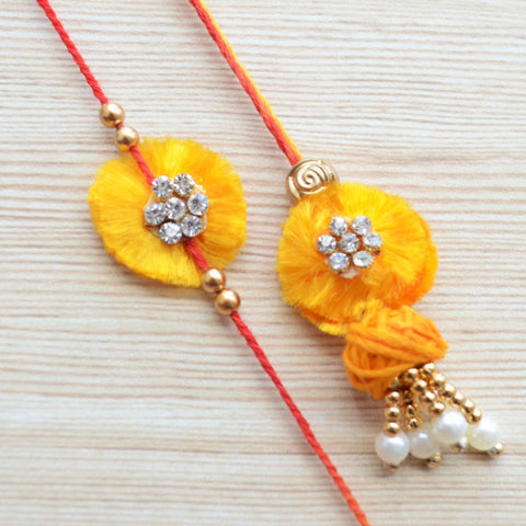 Simple Lumba & Rakhi Gift Set