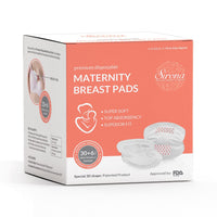 Premium Disposable Maternity Breast Pads (36 Pads)