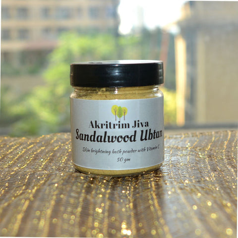 Sandalwood Skin Brightening Ubtan Powder