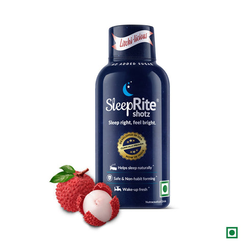 Sleeprite Shotz (3 Berry Fusion & 3 Litchi-licious) (Pack of 6)