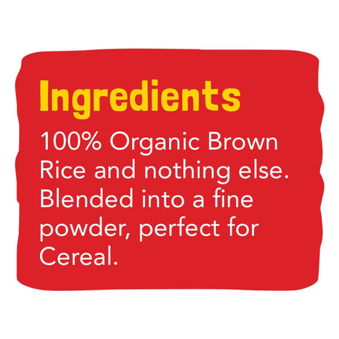 Brown Rice Powder (100% Organic)