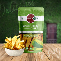 Vacuum Fried Green Mango Fruit Chips (Pack of 3)