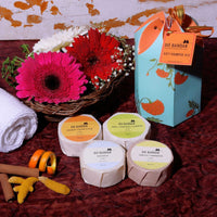 Soaps Gift Hamper (Pack of 4 Soaps)