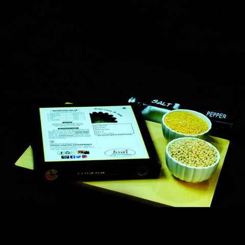 Special Handmade Papad Made with Moong Daal and Urad Daal - 250 gm ( pack of 2 )