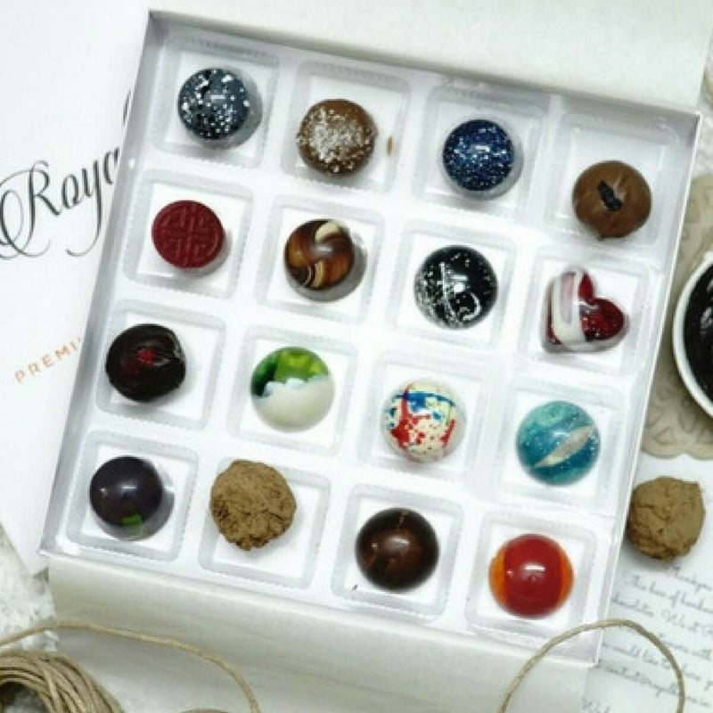 Special Offer : Assorted Chocolate Bonbons (16 Flavors) (Pack of 3 Boxes)