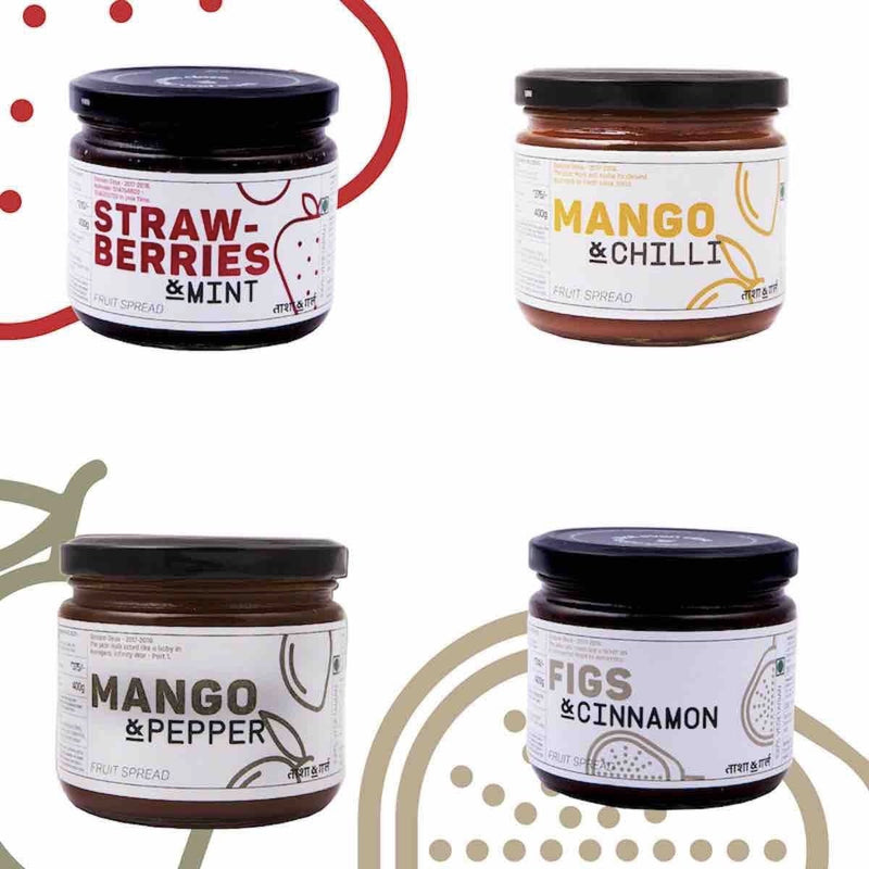 Spice It Up - 4 Spiced Jam Flavours