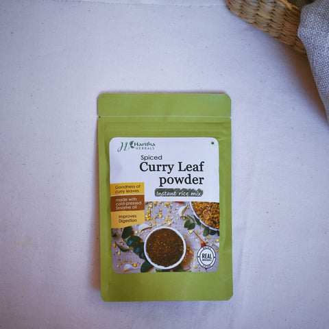Instant Spiced Curry Leaf Powder (Pack of 2)