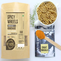 Spicy Wheels With Chaat Masala