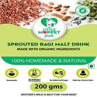 Sprouted Ragi Malt Drink