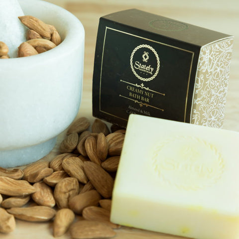 Creamy Nut Soap