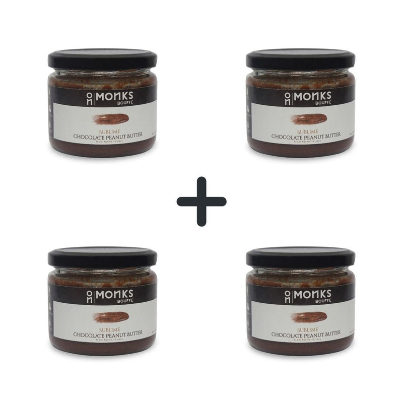 Sublime Chocolate Peanut Butter (Pack of 4)