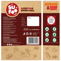 Almond & Cranberry Energy Ball (Pack of 2)